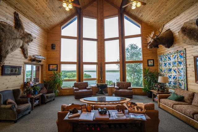 Main lodge at bear trail lodge