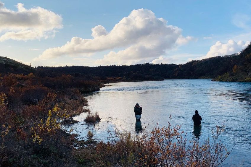 anglers completing their fishing bucket list